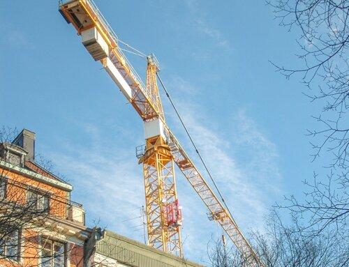 Bostadsbyggandet minskar i Stockholmsregionen