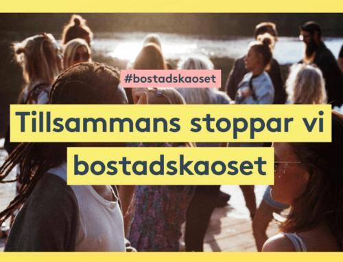 Ny kampanj: Stoppa bostadskaoset!