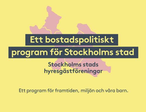 En hållbar bostadspolitik lanseras under VM i trädhus 2-3 oktober